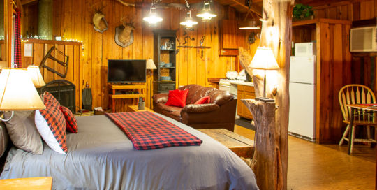Panther Valley Ranch | Sawmill Cabin